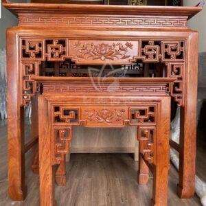 bàn thờ gỗ hương đẹp