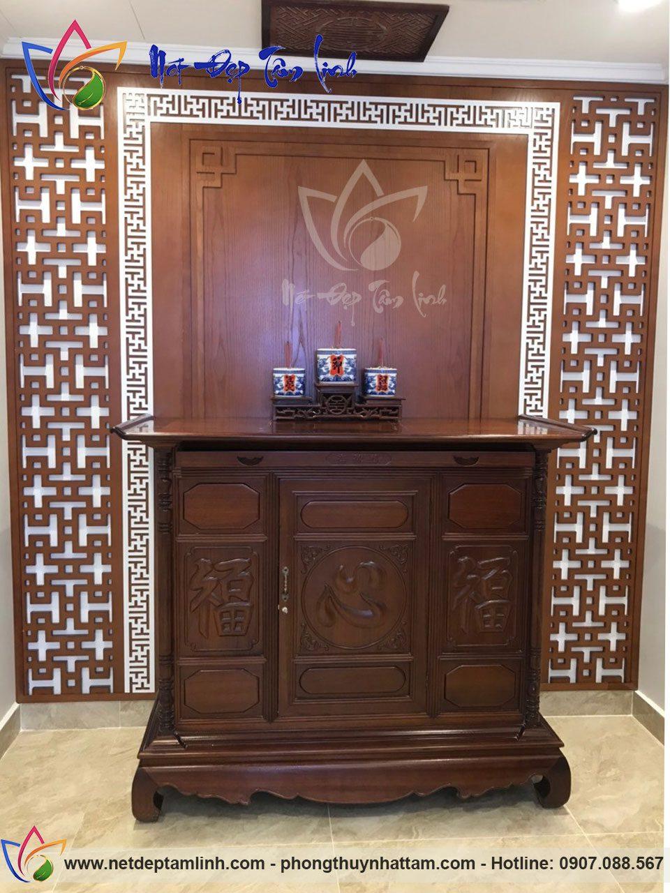 Mẫu tủ thờ đẹp tại đà nẵng