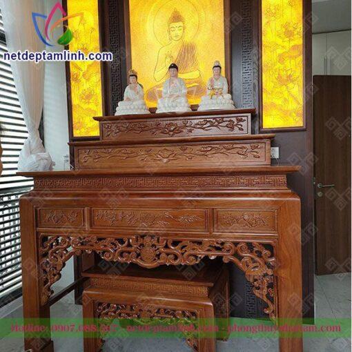 Ban Tho Dung Go Huong 3 Cap