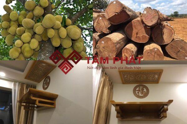 Bàn thờ gỗ mít đẹp
