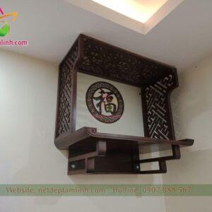 mẫu bàn thờ chân thang có vách ngăn kích thước 495*950, ...