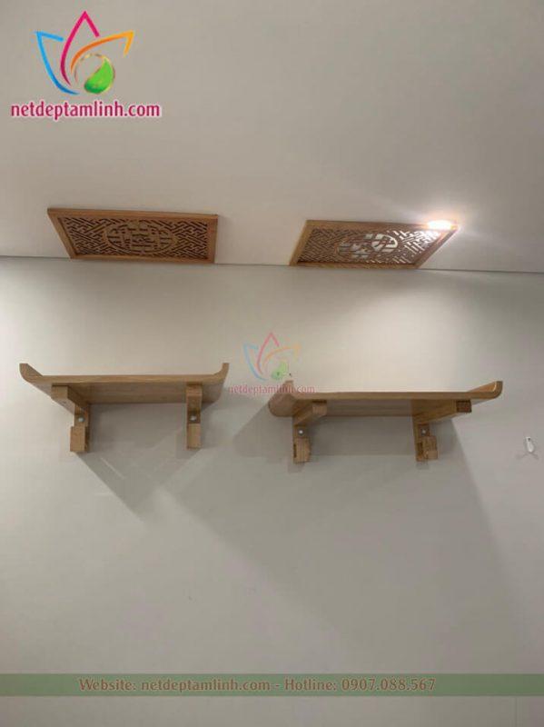 Bàn thờ treo tường 2 cấp