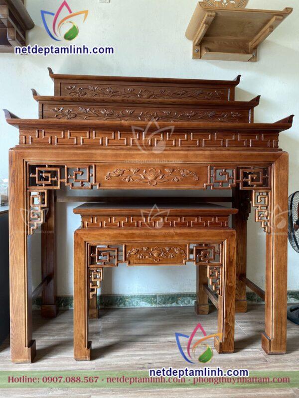Ban Tho Dung Go Soi Ngang 153 3 Cap
