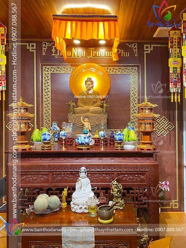 Thi Công Phòng Thờ Phật Tại Gia