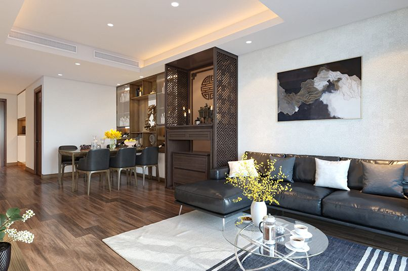 Bàn thờ Phật tại gia cho căn hộ hoặc chung cư