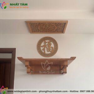 Mẫu bàn thờ treo tường chung cư