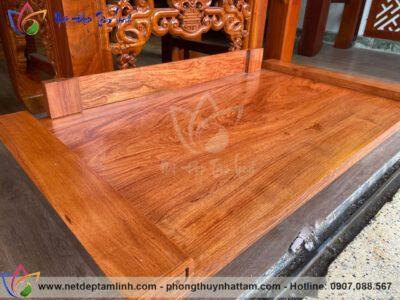 mẫu bàn thờ treo tường gỗ hương đá