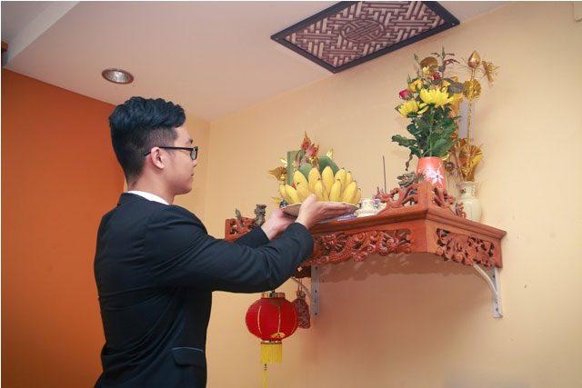 Cách lau dọn bàn thờ không phạm tâm linh