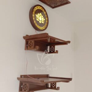 Bàn thờ treo tường 2 tầng