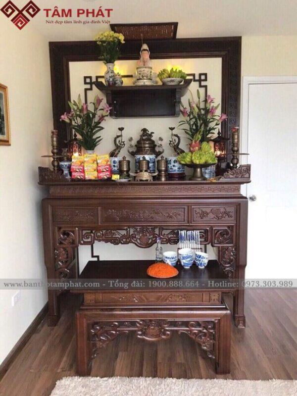 [Giải đáp] Có nên treo ảnh Phật trên bàn thờ gia tiên?
