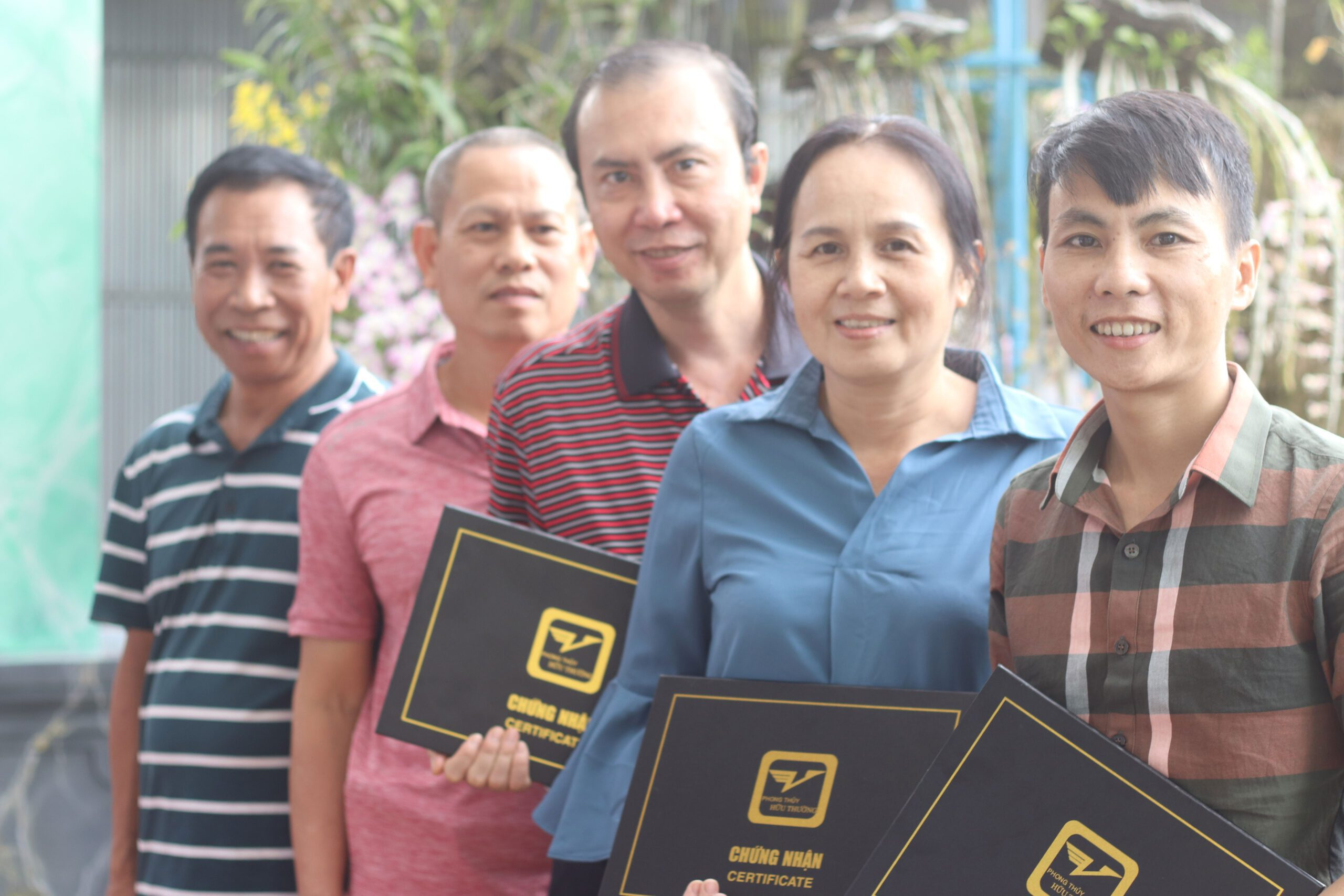 Chứng nhận học viên khóa cao cấp Phong Thủy Hữu Thường