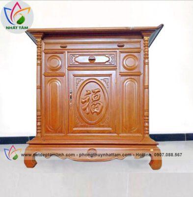 Tủ thờ gỗ mít đẹp 02
