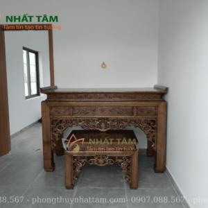 bàn thờ gỗ đẹp