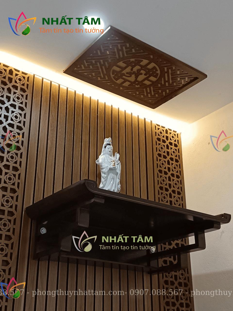 Trang thờ Phật